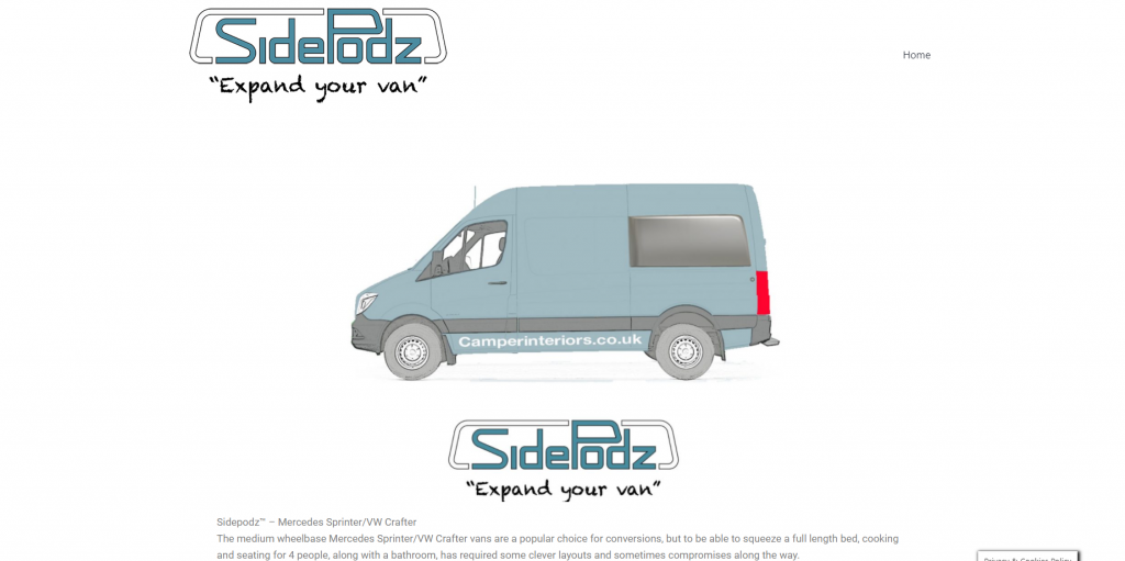 Sidepodz.co.uk